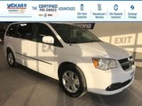 2017 Dodge Grand Caravan Crew STOW N GO, LEATHER SEATS, POWER REAR DOORS AND HATCH  - $154.08 B/W