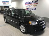 2017 Dodge Grand Caravan Crew STOW N GO, LEATHER SEATS, POWER REAR DOORS,   - $181.00 B/W