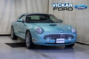 2002 Ford Thunderbird Convertible V8 With Hard Top & Stand