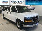 2018 GMC Savana Cargo Van 15 PASSENGER, RWD, 6.0L V8  - $267.80 B/W