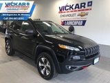 2018 Jeep Cherokee Trailhawk   AWD, SUNROOF, LEATHER COOLED/HEATED SEATS,   - $233.49 B/W