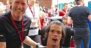 La course du bonheur… pour le plus grand bonheur d'Olivier! chez Avantage Honda à Shawinigan