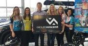Groupe Vincent, fier partenaire de l'équipe TC Media | Nouvelle / Subway pour le Grand Défi Pierre Lavoie! chez Hyundai Trois-Rivières à Trois-Rivières