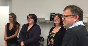 La Brigade sportive Groupe Vincent visite Deloitte et PMA Assurances! chez Prestige Mazda à Shawinigan