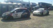 Deuxième étape du championnat SPC en course automobile pour Carl Nadeau et Jeff Boudreault chez Hyundai Trois-Rivières à Trois-Rivières
