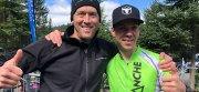 Zone de transition Groupe Vincent : de la sueur et des sourires au triathlon des Défis du Parc! chez Hyundai Trois-Rivières à Trois-Rivières