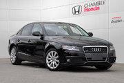 Audi A4 2.0T*QUATTRO*MANUELLE*CUIR*TOIT 2011 FINANCEMENT DISPONIBLE!