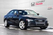 Audi A4 QUATTRO*MANUELLE*CUIR*TOIT 2011 FINANCEMENT DISPONIBLE!