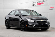 Chevrolet Cruze LT*AUTO*BLUETOOTH*DEMARREUR DISTANCE 2016 *57$/SEM*GARANTIE 3 ANS/60 000 KM*