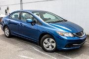Honda Civic LX*64$/SEM*GARANTIE 3 ANS/60 000 KILOMÈTRES* 2013 *64$/SEM*GARANTIE 3 ANS/60 000 KILOMÈTRES*