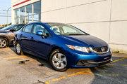 2013 Honda Civic LX*64$/SEM*GARANTIE 3 ANS/60 000 KM*