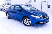 Honda Civic LX*75$/SEM*GARANTIE 3 ANS/60 000 KM* 2013 *75$/SEM*GARANTIE 3 ANS/60 000 KM*