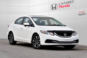 Honda Civic EX*MANUELLE*TOIT*MAGS*CAMERA*BLUETOOTH 2014 *58$/SEM*GARANTIE 3 ANS/60 000 KM*