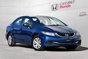 Honda Civic DX*MANUELLE*1 PROPRIO 2014 *62$/SEM*GARANTIE 3 ANS/60 000 KM*