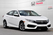 Honda Civic LX*MANUELLE*CAMERA*BLUETOOTH 2016 *65$/SEM*GARANTIE 3 ANS/60 000 KM*