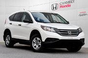 Honda CR-V LX 2014 Nouvel Arrivage!