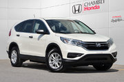 Honda CR-V LX*CAMERA*BLUETOOTH 2016 *87$/SEM*GARANTIE 3 ANS/60 000 KM*