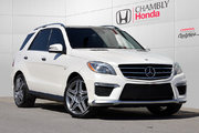 Mercedes-Benz M-Class ML 63 AMG*PREMIUM*DISTRONIC*MAGS 21' 2014 TOIT PANO*SIEGES MASSANTS*