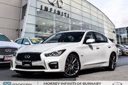 2017 Infiniti Q50 3.0t Red Sport 400 HP Driver Assistance Pkg Fleet