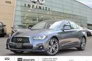 2018 Infiniti Q50 3.0t 300HP Sport - Well Equipped !