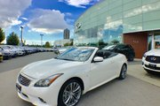 2015 Infiniti Q60 Convertible Sport Pkg One Owner BC Car Bought from us!