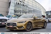 2017 Infiniti Q60 Coupe 400HP Red Sport Tech Package Demo!