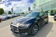 2018 Infiniti Q60 Coupe 3.0t AWD 300HP Luxe  Fleet Cancellation
