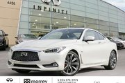 2018 Infiniti Q60 Coupe 3.0t Red Sport 400HP AWD - Top Package