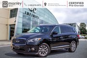 2015 Infiniti QX60 PREMIUM NAVIGATION LEATHER LOW KMS!
