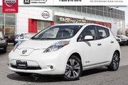 2016 Nissan Leaf SL ELECTRIC LOW KMS CANADIAN VEHICLE!