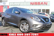 2018 Nissan Murano SV AWD LEATHER LOW KMS
