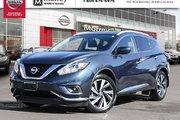 2018 Nissan Murano PLATINUM LOADED DEMO MODEL SAVE $