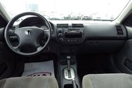 Honda Civic DX-G ** AUTOMATIQUE + A/C 2003