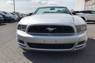 2013 Ford Mustang V6*PREMIUM*CONVERTIBLE*CUIR*DÉMAREUR A DISTANCE*
