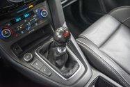 2016 Ford Focus ST cuir gps bancs recaro 20000km kit carbon