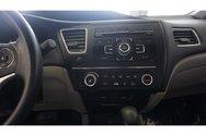 Honda Civic LX, SIEGES CHAUFFANT, A/C 2014