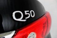 Infiniti Q50 2.0T awd gps toit ouvrant caméra de recul 2016