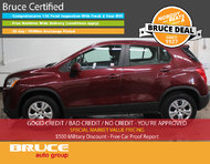 2015 Chevrolet Trax LS 1.4L 4 CYL TURBOCHARGED 6 SPD MANUAL FWD