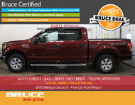 2015 Ford F-150 XLT 2.7L 6 CYL ECOBOOST AUTOMATIC 4X4 SUPERCREW