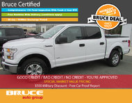 2017 Ford F-150 XLT 3.5L 6 CYL ECOBOOST AUTOMATIC 4X4 SUPERCREW