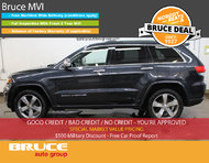 2014 Jeep Grand Cherokee Overland 3.6L 6 CYL AUTOMATIC 4WD