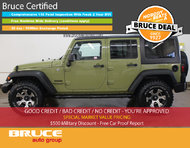 2013 Jeep Wrangler UNLIMITED SPORT 3.6L 6 CYL AUTOMATIC 4X4 - 4 DOORS