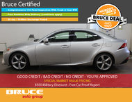 2014 Lexus IS 350 LEATHER INTERIOR / HEATED SEATS / ALL-WHEEL DRIVE