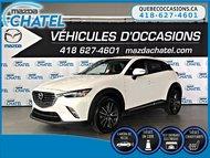 2016 Mazda CX-3 GT AWD - TECH PKG - GPS - CAMÉRA