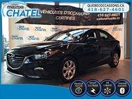 Mazda3 GX - AUTO A/C - BLUETOOTH 2015