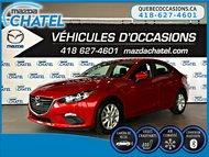 Mazda3 GS - SIÈGES CHAUFFANTS - CAMÉRA - BLUETOOTH 2015