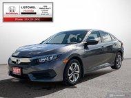 2017 Honda Civic Sedan LX-ONE OWNER, ACCIDENT FREE