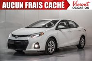 Toyota Corolla 2014+S+CAMERA RECUL+SIEGES CHAUFFANTS+BLUETOOTH 2014