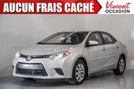 Toyota Corolla 2016+LE+CAMERA RECUL+SIEGES CHAUFFANTS+BLUETOOTH 2016