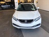 Honda CIVIC LX GARANTIE HONDA 2015